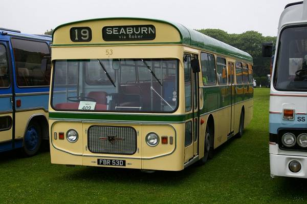 1966 Leyland Panther PSUR1-1R with Strachans B47+19D bodywork
