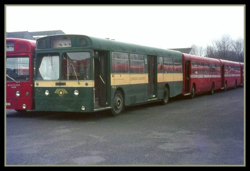 1966 MBS15, the only Strachans AEC Merlin
