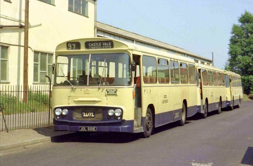 1966 WMPTE 3661 - Ford R192 with Strachans body ex Birmingham City Transport