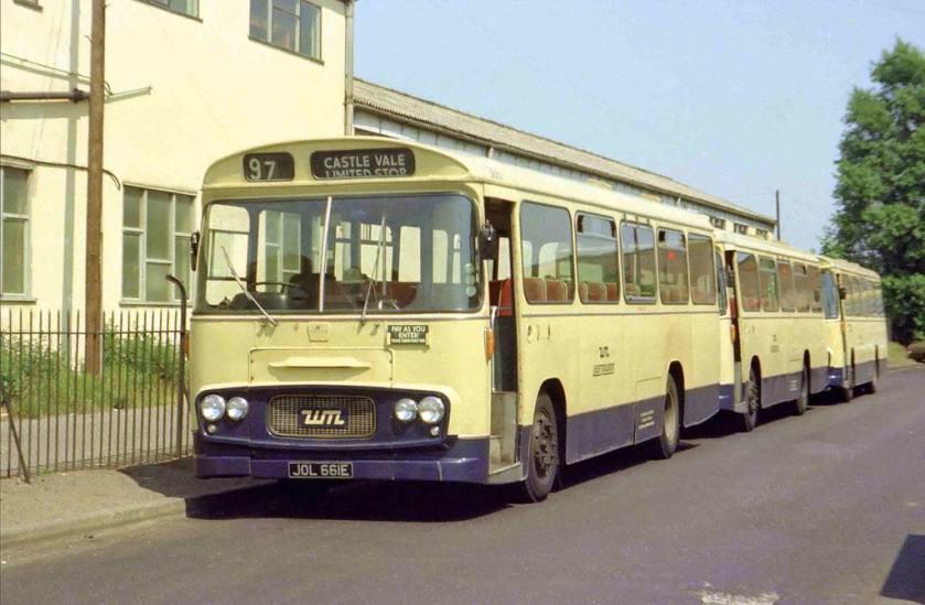 1966 WMPTE 3661 - Ford R192 with Strachans body ex Birmingham City Transport