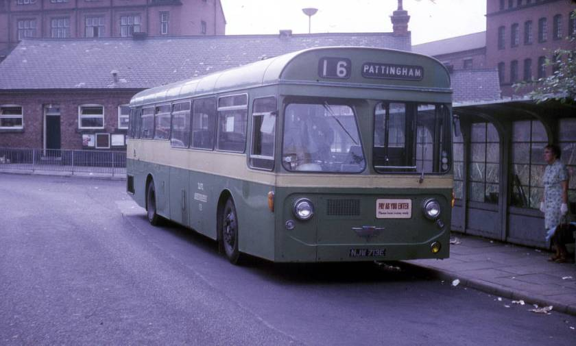 1967 A E C Swift MP2R with Strachan B54D bodywork