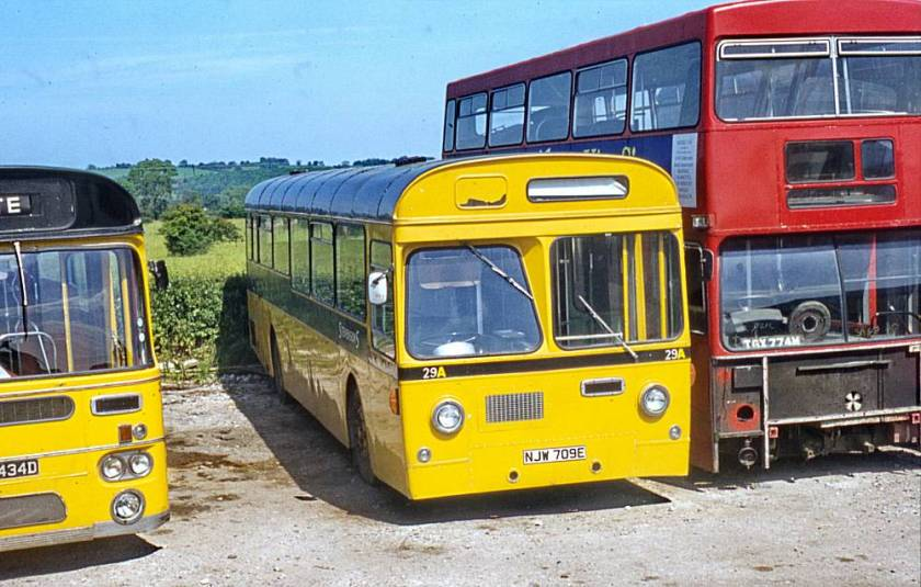 1967 A E C Swift MP2R with Strachans B58F bodywork