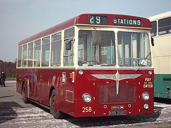 1967 Bristol RELL6G with Strachans B34D body