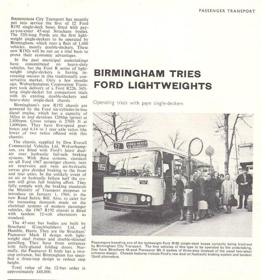 1967 Ford Strachans bus