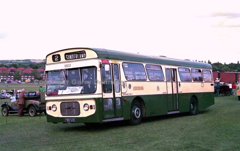 1967 Leyland Panther 88, GBR88E, with Strachans bodywork FBR53D
