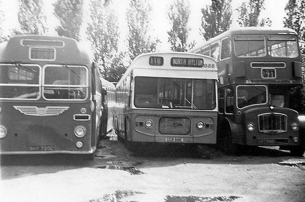 1967 Leyland Panther 88, GBR88E, with Strachans bodywork