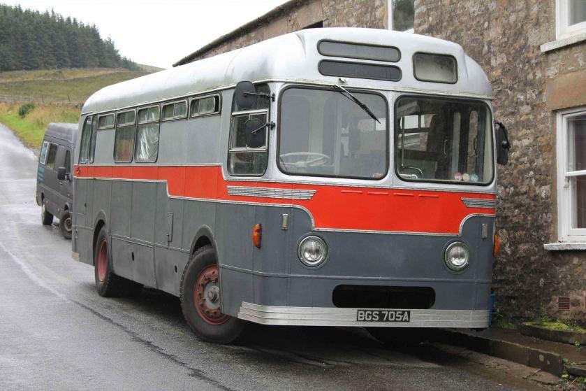 1967 Strachan bodied AEC Reliance ex Aldershot & District 273 MOR604