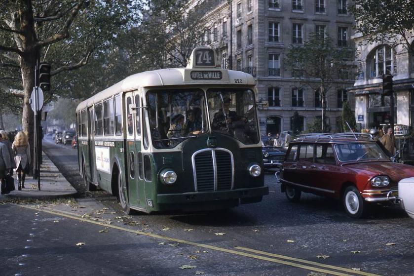 1968-1156 - Paris RATP, autobus Somua OP5-3