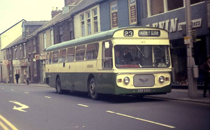 1968 AEC Swift MP2R with Strachan B47D bodywork