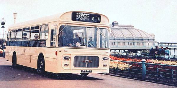 1968 Leyland Panther Cub PSRC1-1 with Strachan 43 seat bodywork