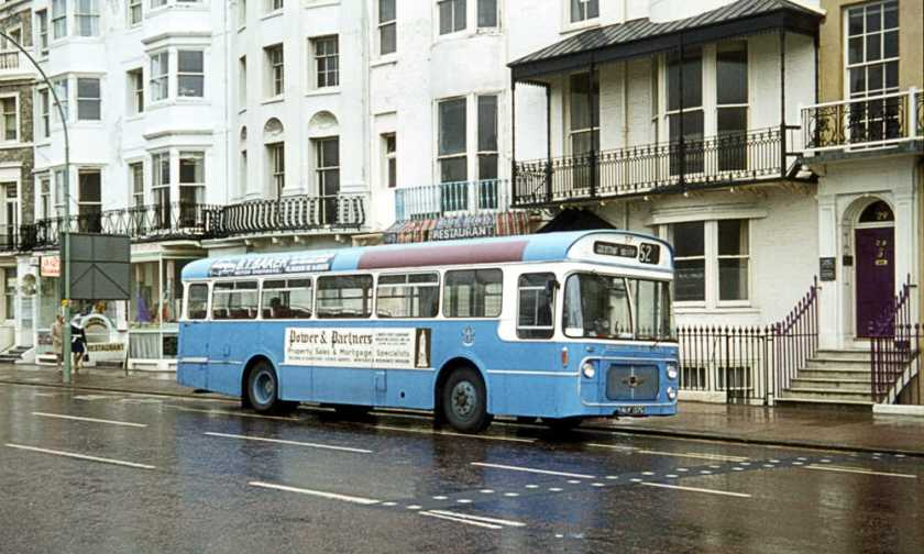 1968 Leyland Panther Cub PSRC1-1 with Strachan B43F body
