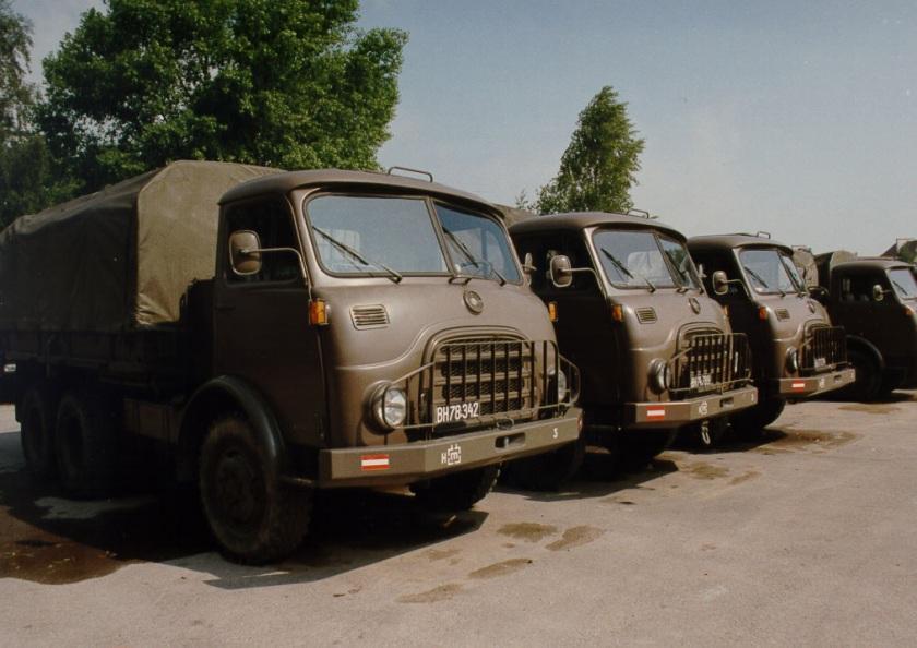 1968 Lkw Steyr 680M, der Vorgänger des Lkw Steyr 12M18