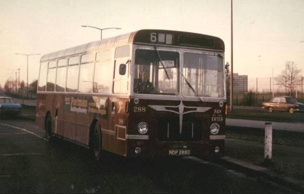 1968 Pennine bodied Bristol RESLs. 288