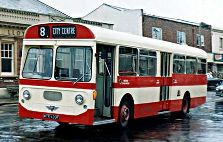 1968nAEC Swift MP2R Strachan B47D MTR-420F