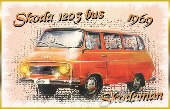 1969 Škoda 1203 Bus