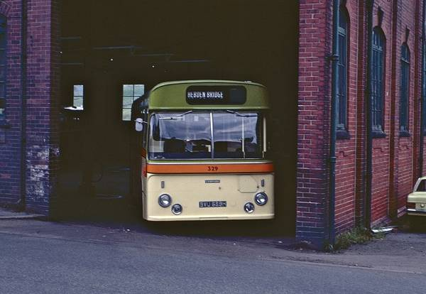 1969 Leyland Leopard PSU4A with a Seddon Pennine body