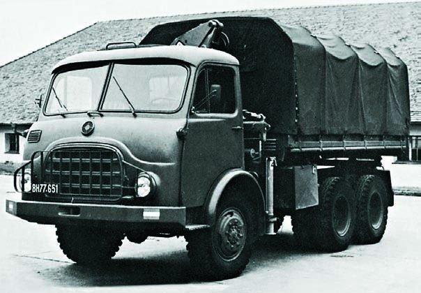 1969 Steyr-680М3, 6x6