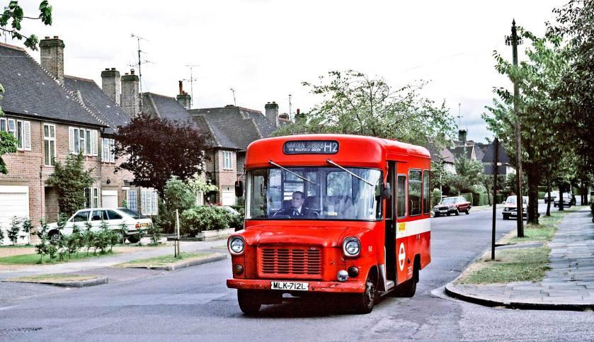 1972 Ford Transit Strachan DP16F