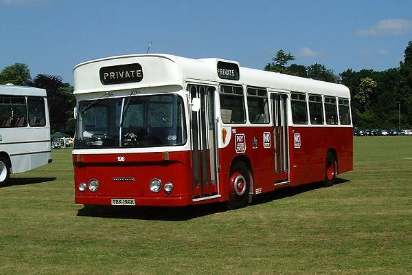 1972 Leyland Atlantean PDR2-1 with Seddon B40D body