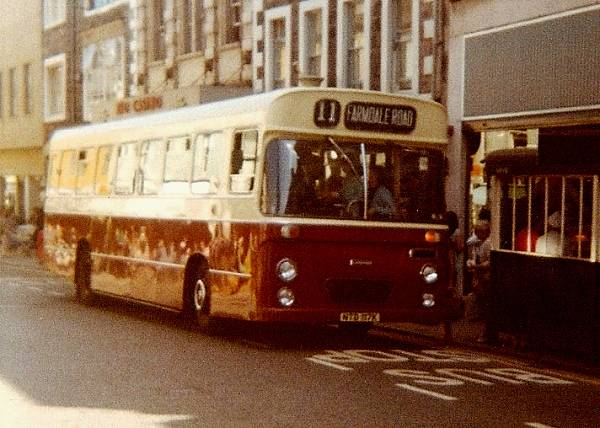 1972 Leyland Leopard PSU3B-2R with 51 seat Seddon body