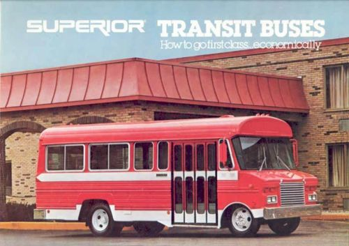 1979 Superior Transit Bus Sales Brochure