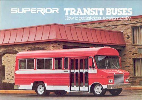 1979 Superior Transit Bus Sales Brochure