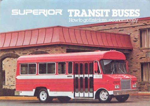 1980 Superior Transit Bus Brochure