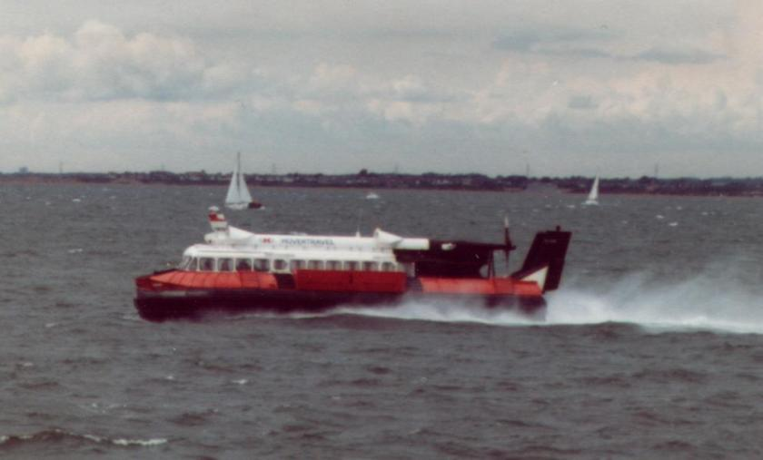 1982 SR.N6 of Hovertravel on the Solent