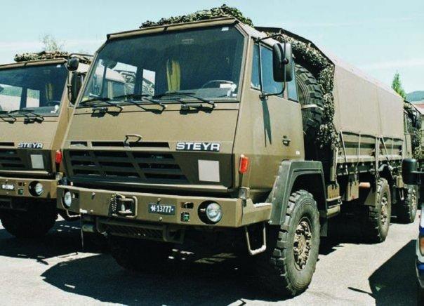 1983 Steyr 1291.280М, 4x4
