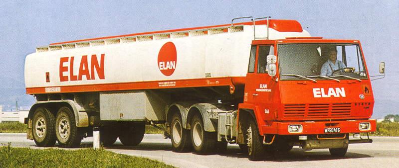 1983 Steyr 1490 S29 6x4