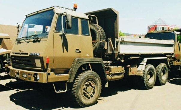 1986 Steyr 1491.330M, 6x6