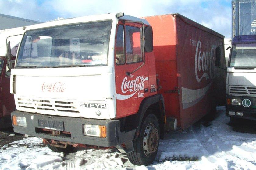 1987 STEYR 15 S 18 Coca Cola