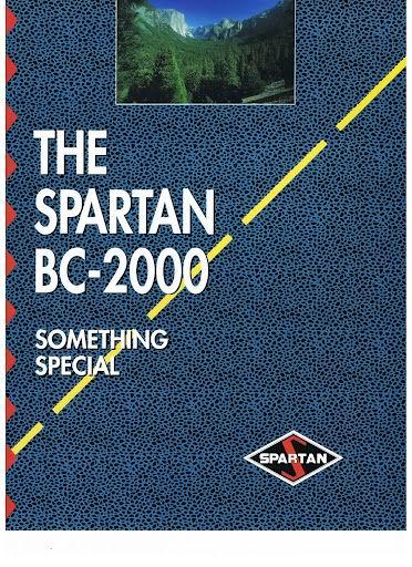 1992 SPARTAN BC-2000 (BC-2000-1992A)