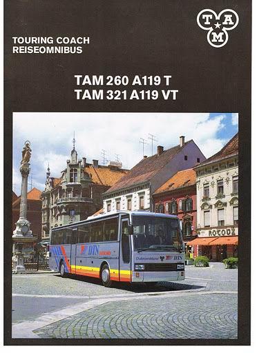 1992 TAM 260 A110T+321 A119VT (RAI 92)