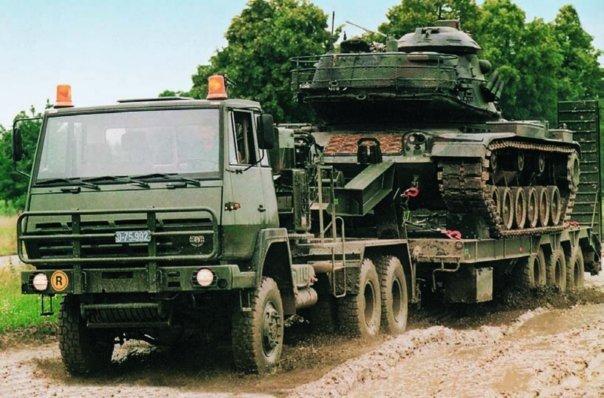 1993 Steyr 35М36, 6x6