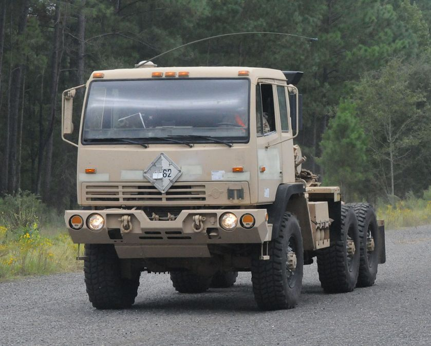 1996 US Army BAE FMTV truck based on Steyr 12M18