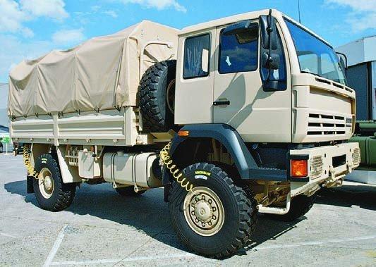 1998 Steyr 18.264LAE, 4x4