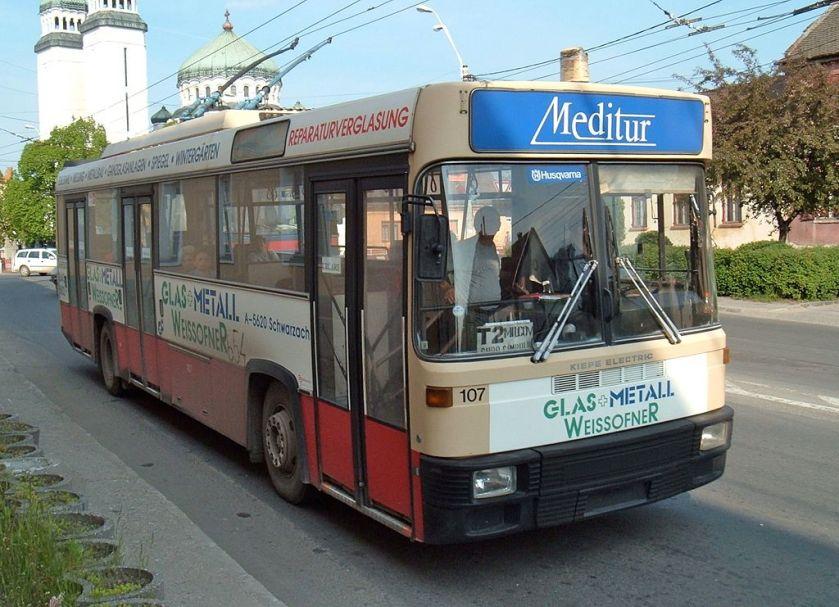 1998 Steyr trolleybus 654, ex-Salzburg 107