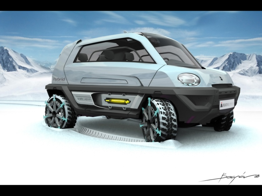 2008-Magna-Steyr-MILA-Alpin-Concept-Front-And-Side