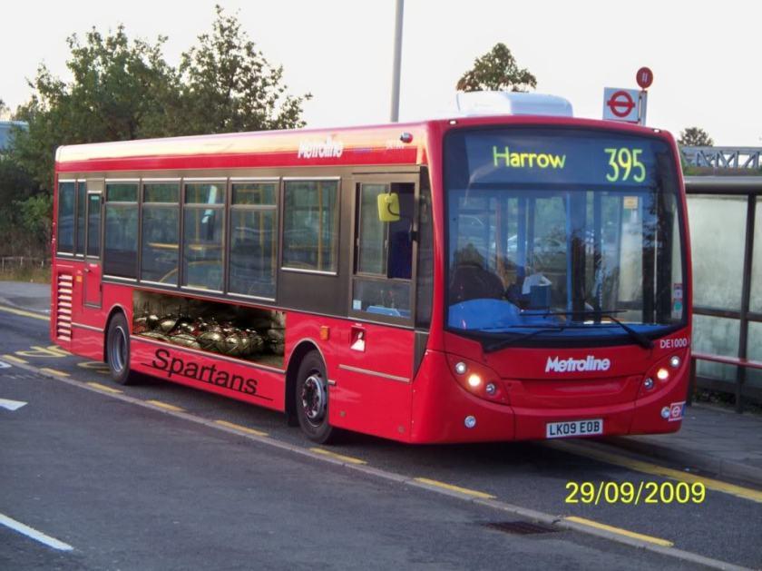 2013 Spartan Bus
