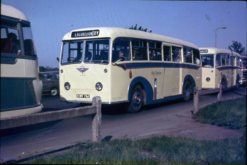 Barnaby bodied AEC Regal IV coaches