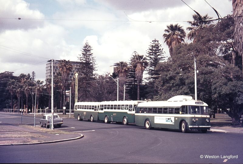 Barrack Street Jetty ARHS Special Sunbeam Trolleybus 851
