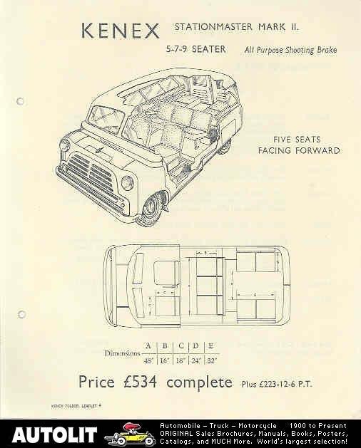 Bedford CA Kenex Brochure 1
