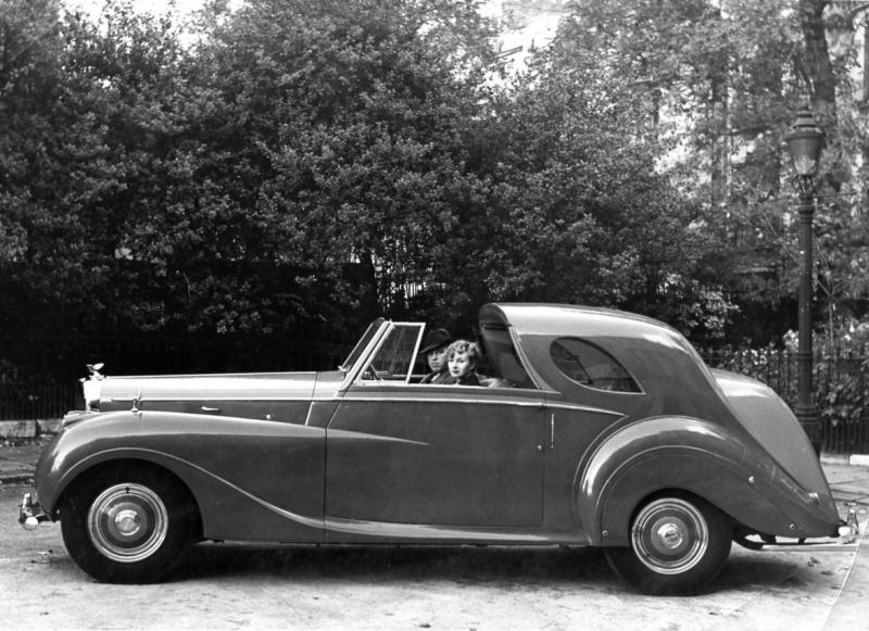 Bentley MK VI Teardrop Coupé