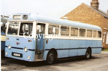 bond brothers AEC Reliance Plaxton PPT57D
