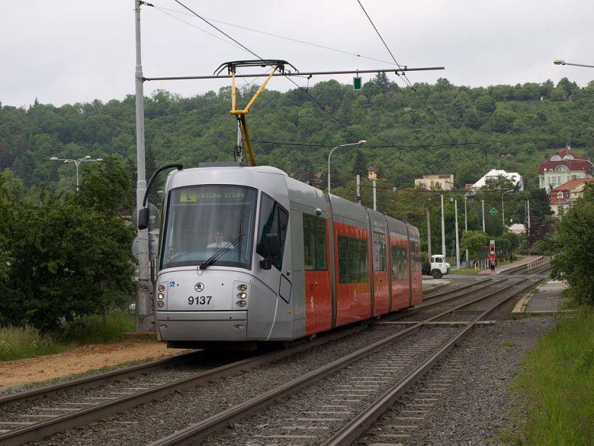 Škoda 14T TT Ke Stírce - Elektrárna Holešovice, Trojská, Škoda 14T