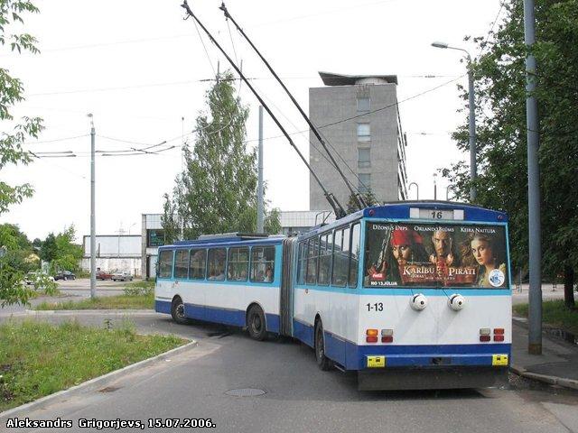 Škoda 15Tr Nr. 1-13