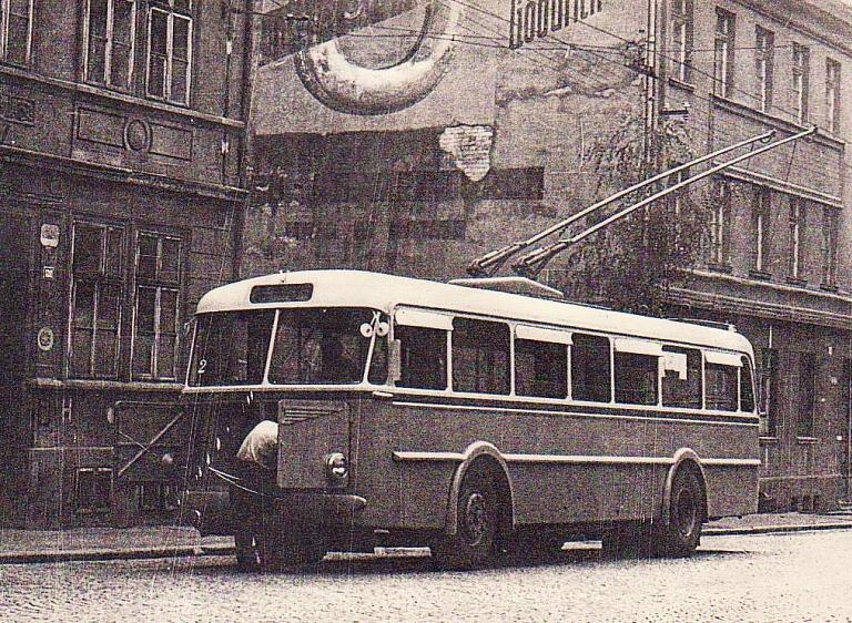 Škoda 7 Tr, který v roce 1952