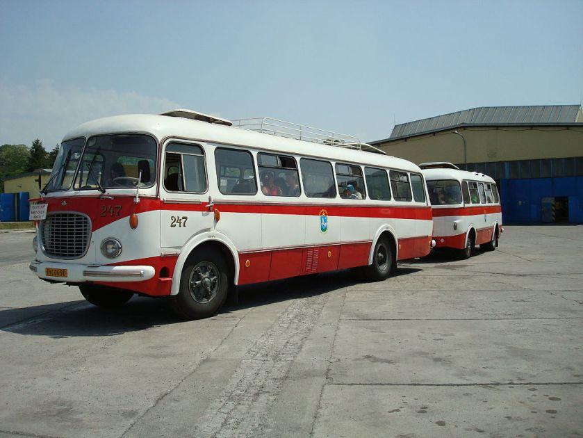 Škoda 706 RTO a Jelcz P-01 Ostrava