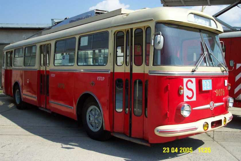 ŠKODA 9Tr Brno Trolleybus